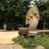 カンボジア 「ベンメリア」遺跡 放置された巨大遺跡(1/2) シェムリアップからの移動と参道