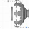 iPadアプリ、U-makeで相輪塔を描こう!(その2)