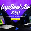 14インチ薄型軽量モバイルノート「CHUWI LapBook Air」の先行予約受付中! 50ドルOffクーポンが1名様にプレゼント!