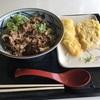 牛肉ひらたけしぐれ煮ぶっかけ@丸亀製麺 イオン苗穂店