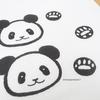 パンダの手形と足形 どう違う?