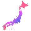 飛行機を使わずに東京から各県へ行くための時間