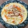 鶏肉と塩もみ白菜のクリーム煮