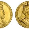 イギリス 1902年エドワード7世戴冠大型ゴールドメダル