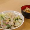 鶏胸肉と小蕪の柚子胡椒炒め