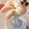 一宮 セリーヌの白桃パフェ