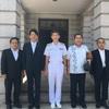 海上自衛隊呉地方総監部を表敬訪問