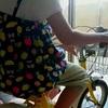 自転車の練習。