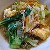 キャベツ浅漬鍋の残りで酸辣湯麺