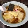 田浦町の「梅林食堂」でワンタンメン
