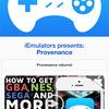iOS用ゲームエミュProvenanceが再びダウンロード可能に:メガドライブ・ファミコン・スーファミなど