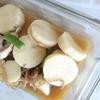 「長芋と糸こんにゃく、インゲンの煮物」レシピ