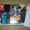 """当選品21 2月下旬に日本生命様より、「Nintendo Switch+""""1-2-Switch""""セット」が当選しました!"""
