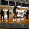 01/06(日) スラックライン体験会 in 南内越コミュニティ体育館