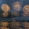 船上の大花火