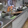 幸運な病のレシピ( 664 ) 夜:「後片付け」フルセット、揚げ物、フライパン、パテ、焼き魚、食洗機