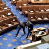 国会議事堂に暴徒が乱入