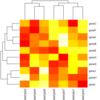 heatmapの横に色をつけるオプション