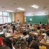 1年生:音楽&図工 校歌のテストと鑑賞