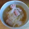 玉ねぎソーセージスープ