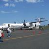 【旅行日記_屋久島】2_鹿児島空港から屋久島まで飛行機で出発。屋久島は既に初夏だった。