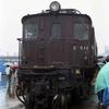 笹島貨物駅での車両展示 愛知の鉄道100年フェア
