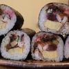 らくたろう一家の節分 『回転寿司 喜楽』 海鮮巻+上巻寿司