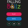 """【おすすめ】""""Falling Ballz""""という無料ゲームアプリを遊んで色々と紹介していく 7作品目"""