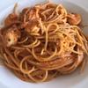 昼食は本格イタリアンでパスタを食す  南ア・ヨハネスブルグの最初の食事