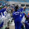 除雪に疲れた体を、富山商業の選抜大会出場が癒してくれます (^^)