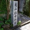 亀山社中の跡と風頭公園まで徒歩で行く場合の注意点