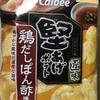 爽やかな風味と濃厚な旨味 カルビー 堅あげポテト匠味  鶏だしぽん酢味 食べてみました (コンビニ限定)