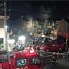 アパート全焼6人死亡 北九州、男性5人が病院搬送