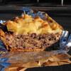 北小金の「バックシュトゥーベ・ツオップ」で黒米のキッシュ、黒豆のパン、ネージュ、プラリネクロッカン、チョコナッツのデニッシュ。