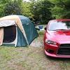 新富士オートキャンプ場へキャンプツーリング