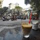 ハノイ「CONG CAPHE」で名物のヨーグルト・コーヒー(Sua chua ca phe)を飲む