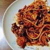 余り物スパゲッティ / 一風堂のホットもやしソース味