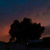 パラグアイ最後の夕暮れ時