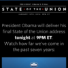 President Obama delivered his final State of the Union address on January 12th, 2016.