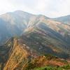 朝日岳。10月中旬。