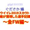 ウイイレ2019スカウト~蟻がスカウトで獲得した選手記録~金FW編~