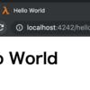 Hunchentoot + Djula でHello World - Webアプリを作ろう3