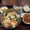 横浜中華街で見つけたお得な中華料理のセット。『醉楼別館(すいろうべっかん)』の五目焼きそばセットを食べてみた。
