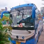 パタヤ~スワンナプーム空港に行くには「パタヤ南ジョムティエンバスターミナル」からビックバスで!!