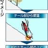 防災ヘリ、尾部から斜面に墜落か…バランス崩し