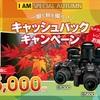 Nikon(ニコン)が最大15,000円キャッシュバックキャンペーン!今が買い替えのチャンスです!