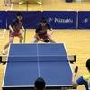 なつき選手・れな選手(白子高校)の東京オープン2019東京卓球選手権