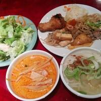 新宿『エラワン』タイ料理ランチビュッフェ