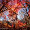 紅葉の森でドール撮影(*´∀`)
