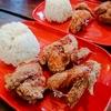 フィリピン親子留学☆はーちゃん4歳の日記♪ Vol.27 チキン食べ放題